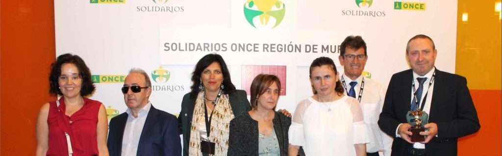 Premios Solidarios Once, Proyecto AMAR, DeAnimals, Asociación Usuarios Perros Guía Murcia