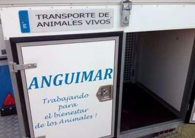 Remolque con Aire acondicionado de Recogida de Animales