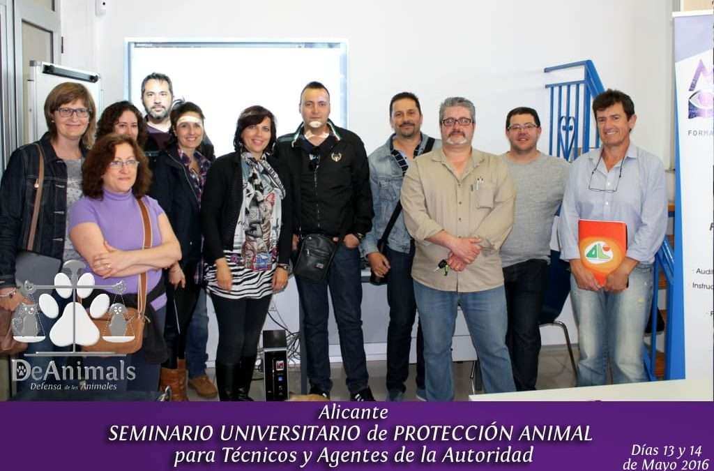 Seminario Universitario Formación Jurídica en Protección Animal