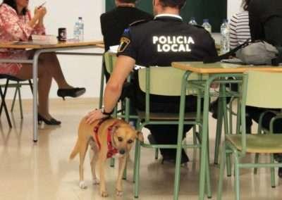 Formación a Policía Local de Cox