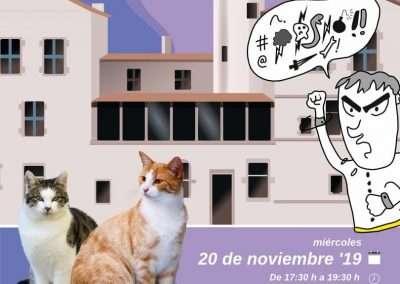 Ciclo Formativo sobre Colonias Felinas el día 20 de noviembre de 2019