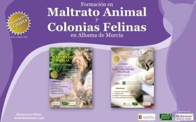 ✅ Formación en Maltrato Animal y Colonias Felinas en Alhama