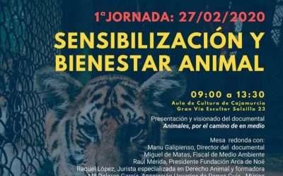 Preestreno del documental «Animales, por el camino de en medio»