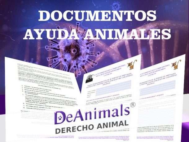 COVID19-Documentos Gratis para Ayudar a los Animales