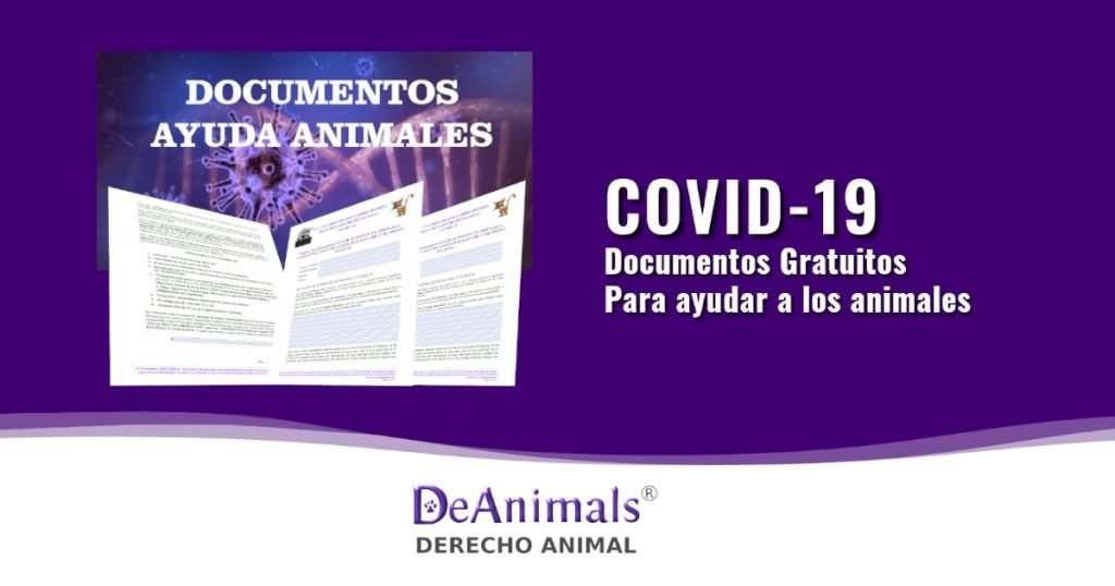 Documentos Gratuitos Para ayudar a AnimalesCovid-19, Coronavirus