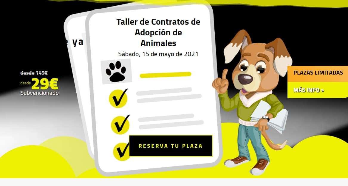 Taller-Contratos-Adopción-Animales en el IPA