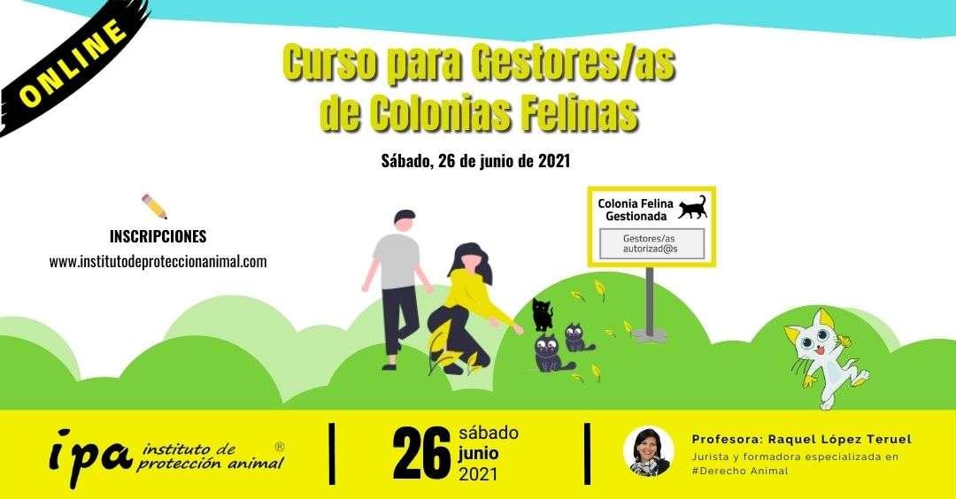 Curso IPA, Gestores de Colonias Felinas-26-06-2021