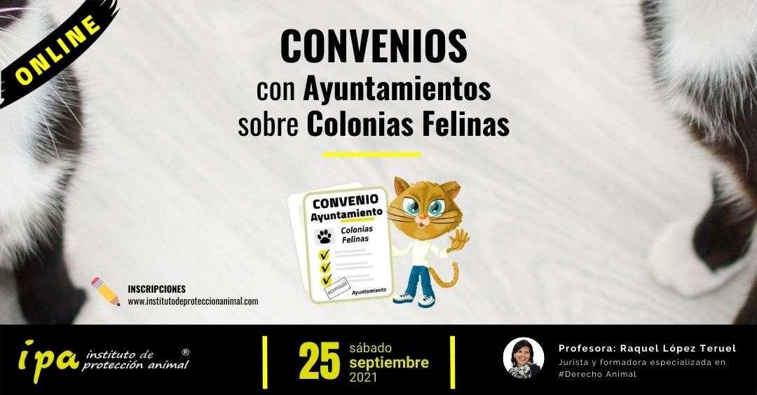 IPA, Curso Convenios Aytos Colonias Felinas-25-09-2021